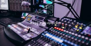 عکس با کیفیت تبلیغاتی تجهیزات استودیویی