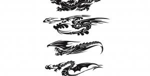 اژدها در حال پرواز