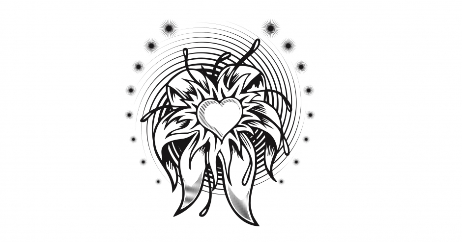 گل قلبی