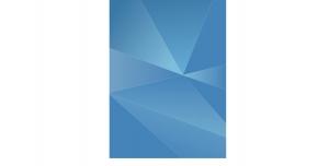 پس زمینه مثلثی آبی