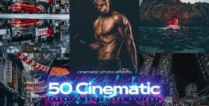 50 Cinematic Photoshop Actions