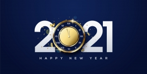 وکتور تبریک سال نوی میلادی