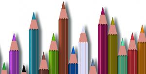 مجموعه مداد رنگی با قابلیت تغییر رنگ آنها به دلخواه شما
