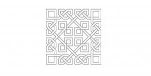 طرح مربعی