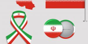 پرچم ایران به صورت Png