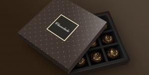 موکاپ بسته بندی زیبای شکلات