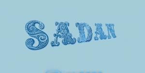 فایل psd اسم سدن