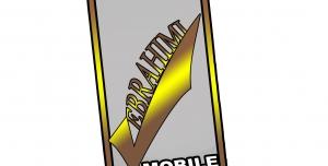 موکاپ و لوگوی موبایل فروشی
