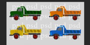 ماشینهای سنگین ایرانی (مدل بنز 10 چرخ)